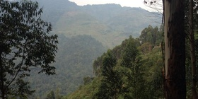Batwa cave trail in Mgahinga